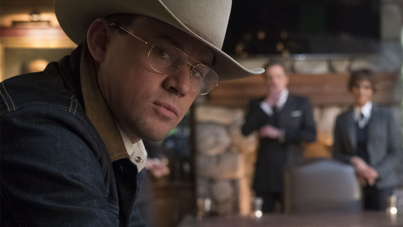 Image: Channing Tatum as he appears in Kingsman: The Golden Circle. 20th Century Fox