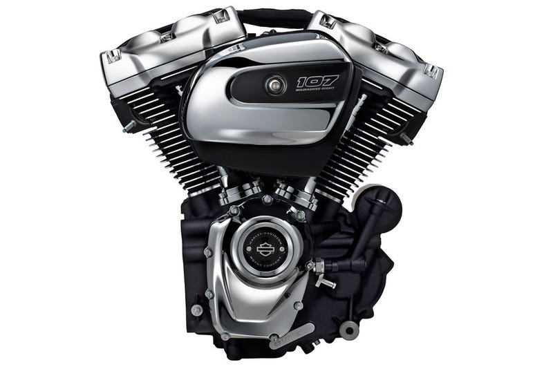 Illustration for article titled BREAKING NEWS: Harley-Davidson's New Milwaukee-Eight Big Twin Engine