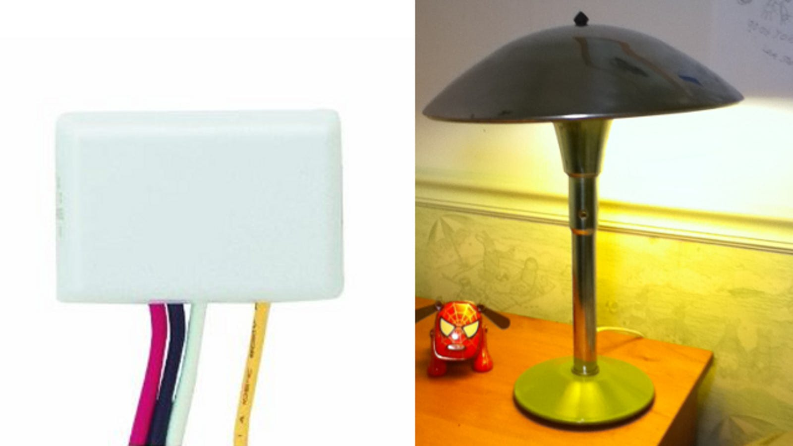 Turn A Lamp On And Off Just By Touching It With This Diy Tweak Rewiring Light Cool Tutorial