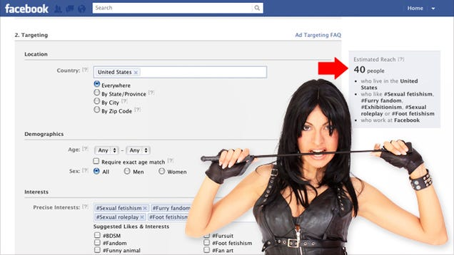 Use Facebooks Targeted Ads to Find Out How Many People