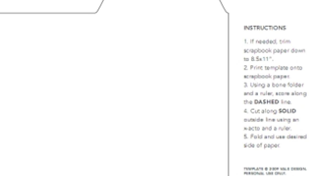 Print Mini File Folders To Hold Loose Notes
