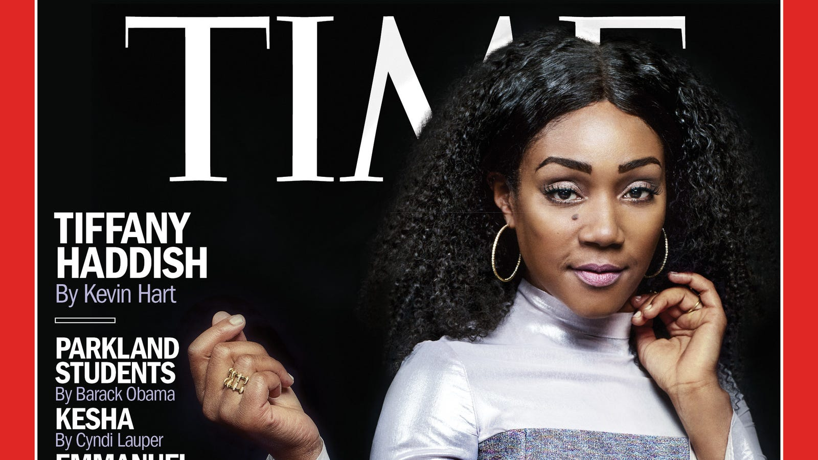 Tiffany Haddish Lands Cover of Time's 100 Most Influential People Issue