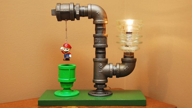 Illustration for article titled Super Mario Lamp Finally Makes the Pain in My Life Worth It