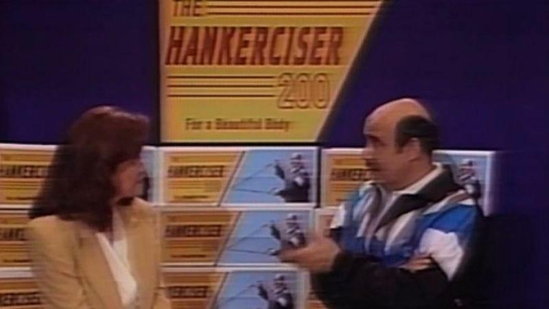 "Illustration for article titled The Larry Sanders Show: ""The Hankerciser 200"""