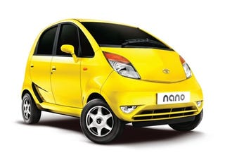 Illustration for article titled Sub-$2,000 Tata Nano Officially Cheapest Car