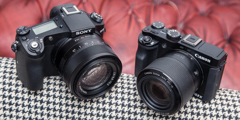 Illustration for article titled Battle of the Superzooms: Canon G3X vs. Sony RX10 Mark II