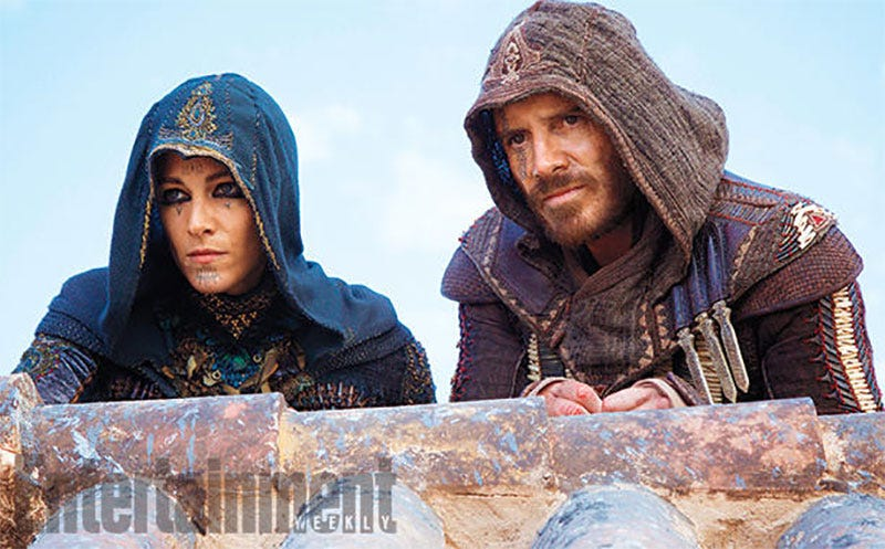Illustration for article titled Let's Judge The Assassin's Creed Movie Based On One New Image