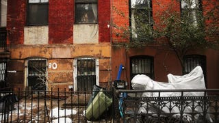 Two homes in the Fort Greene neighborhood of Brooklyn, N.Y., Feb. 27, 2014Spencer Platt/Getty Images