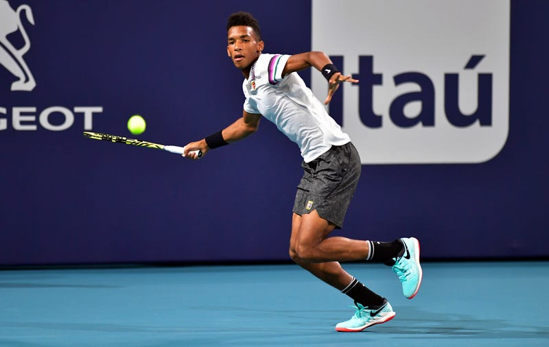 Illustration for article titled Tennis Wunderkind Félix Auger-Aliassime Is Ready To Face The Best