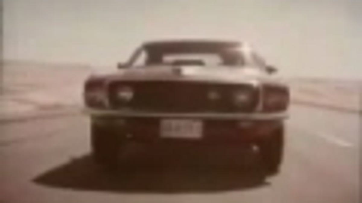 The Mustang Mach 1 Has A Sports Roof 1969 Ford Shaker Scoop