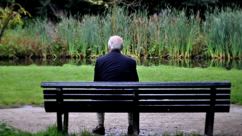 Illustration for article titled No Way Old Man In Park Not Thinking About Dead Wife