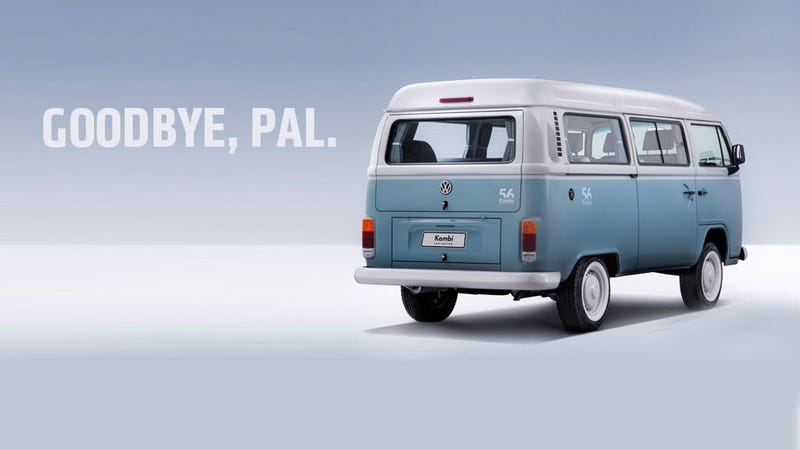 Illustration for article titled Old-School VW Microbus Will Finally End Production This Year