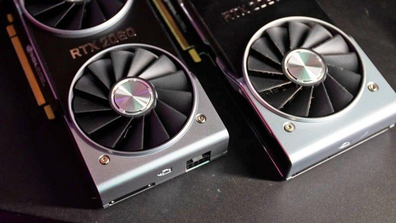 Nvidia RTX 2080 y la 2080 TiFoto: Alex Cranz (Gizmodo)