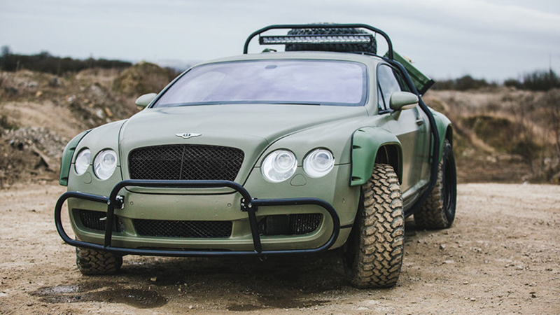The Bentley You Need For The Zombie Apocalypse Is Finally For Sale