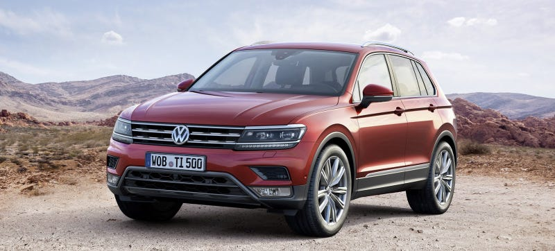 Illustration for article titled 2017 Volkswagen Tiguan: This Is It