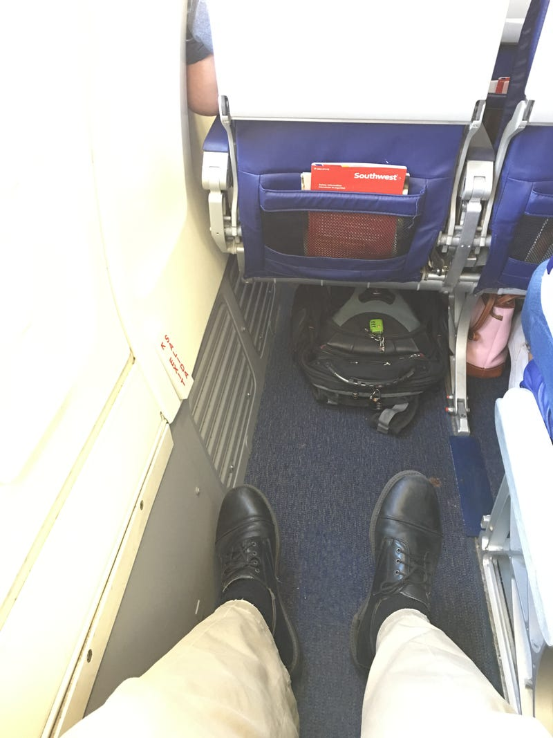 Illustration for article titled Ah, legroom...