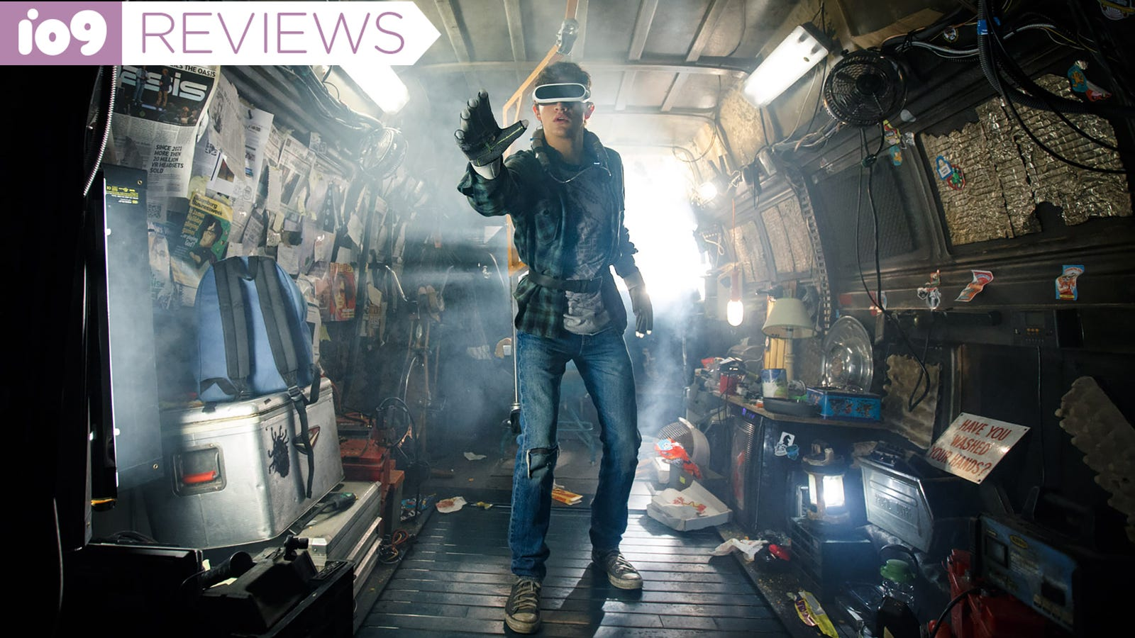 Ready Player One Is an Orgy of Nostalgia in All the Wrong Ways