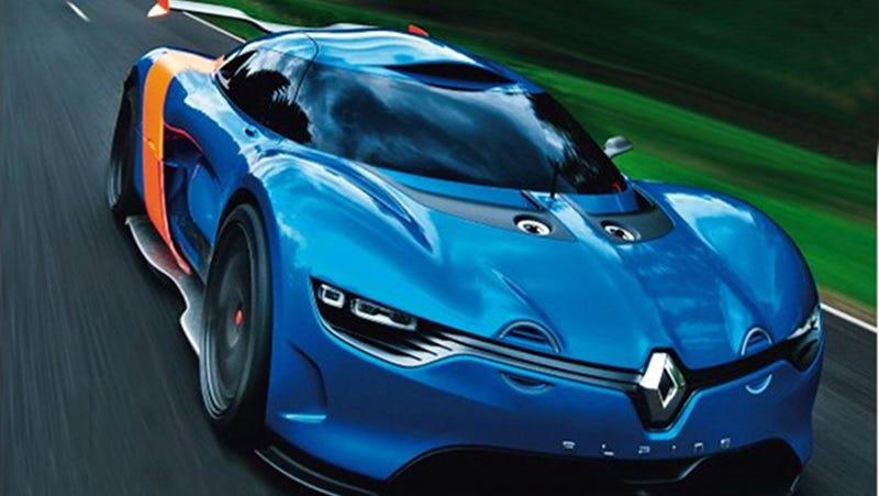 Illustration for article titled The Return Of The Renault Alpine