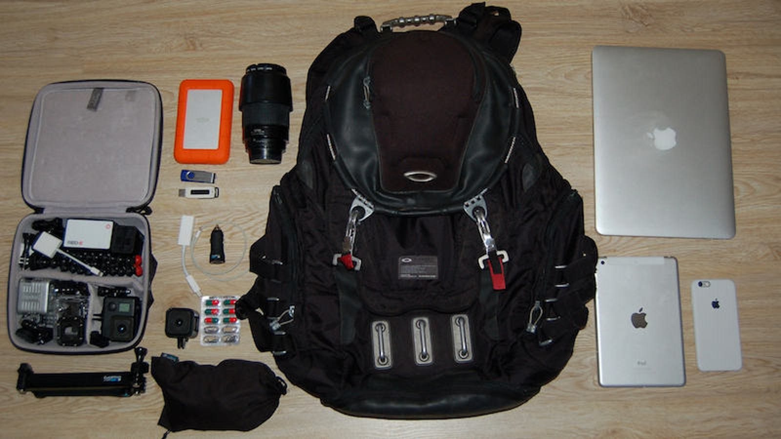 The Gopro Friendly Bag