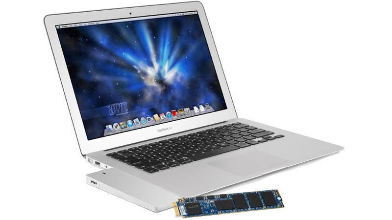 Illustration for article titled Upgrade Your Macbook Air SSD, Reuse the Old One as a Sleek External Drive
