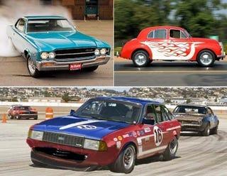 Illustration for article titled Greatest Racing Series Ever: AMC vs Austin vs Hindustan Ambassadors!