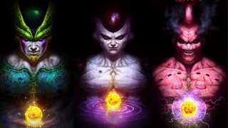 Illustration for article titled Dragon Ball villains drawn realistically are genuinely petrifying