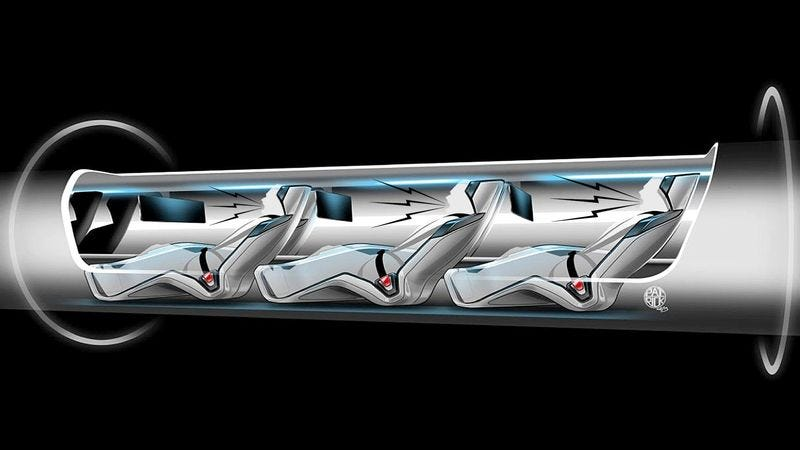 Illustration for article titled New Super-Fast Transport System Powered By Passengers' Screams