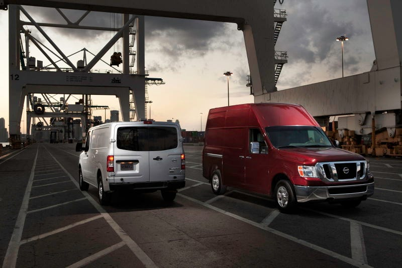 Illustration for article titled 2012 Nissan NV Van