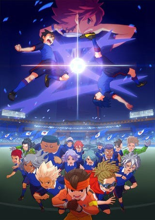 Illustration for article titled The Anime of Inazuma Eleven: Seal of Orion will premiere this fall