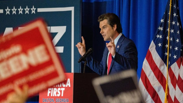 Matt Gaetz Clarifies He Meant  Armed  Government Overthrow, Not Murder in Silicon Valley