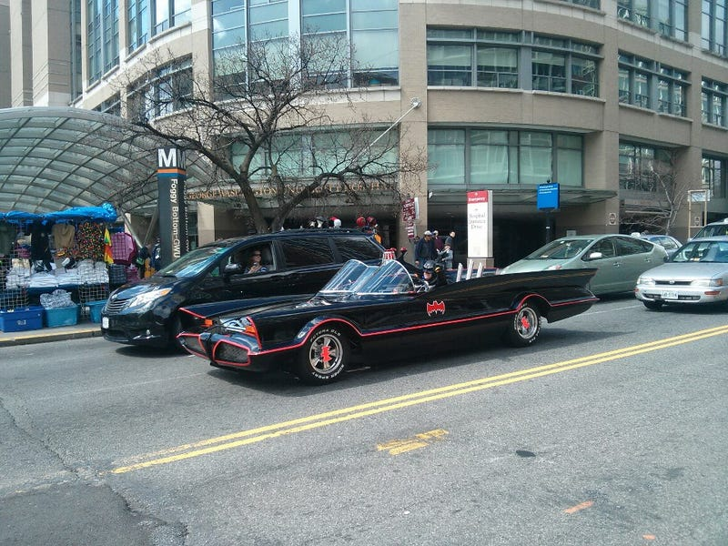 Illustration for article titled So it looks like the Maryland Batman got his commissioned batmobile.