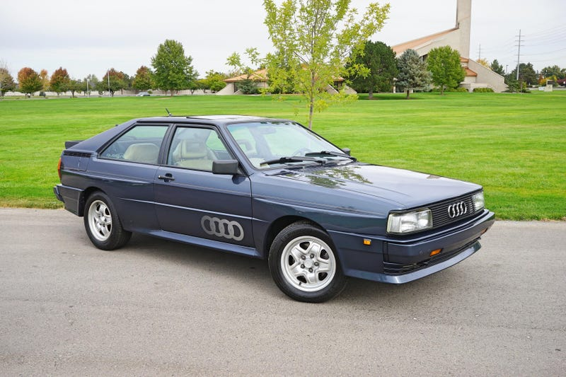 Illustration for article titled At $49,995, Would Buying This 1984 Audi Quattro Put You Off to a Good Start?
