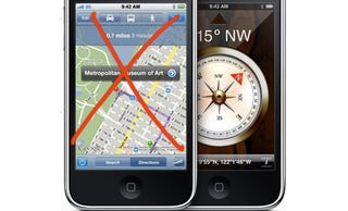 Illustration for article titled More Evidence Apple's Looking Beyond Google for iPhone Maps?