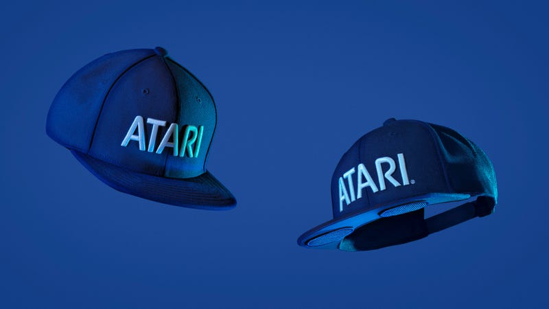 Atari made this outrageous baseball cap with built-in speakers