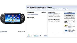 Illustration for article titled Playstation Vita Is Finally Up for Pre-Order... in Canada?
