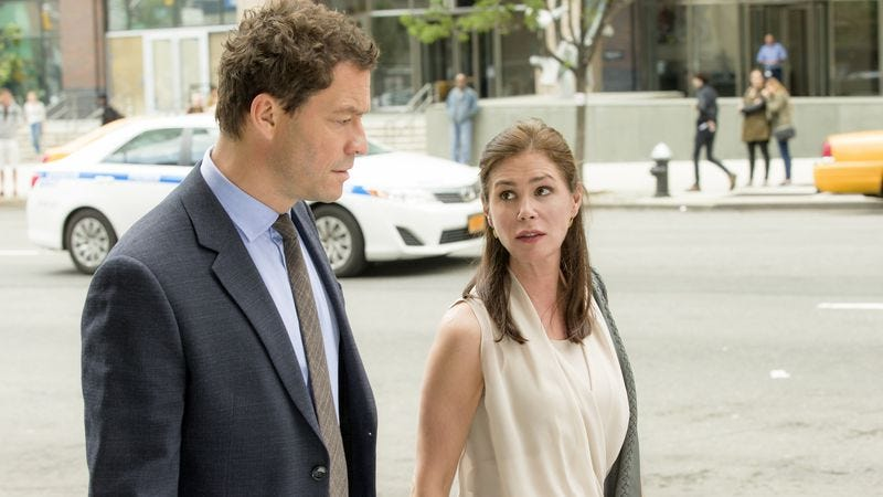 Dominic West, Maura Tierney (Showtime)