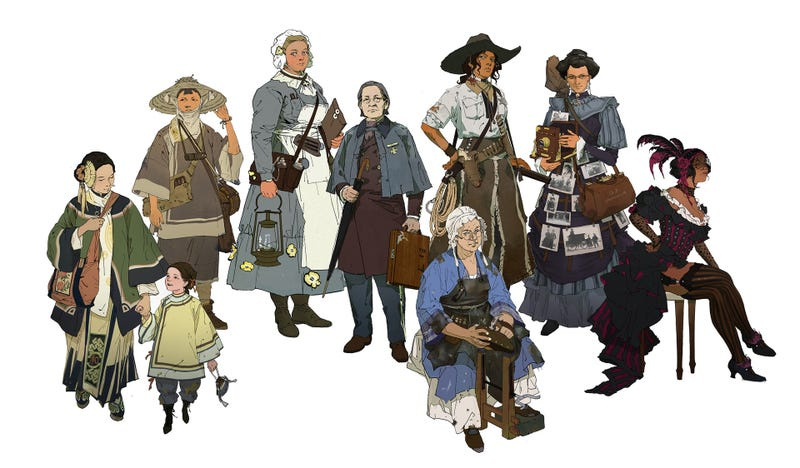 Illustration for article titled The Women Of The Wild West