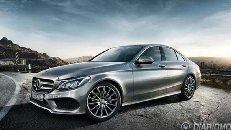 Illustration for article titled 2015 Mercedes C-Class: This Is It