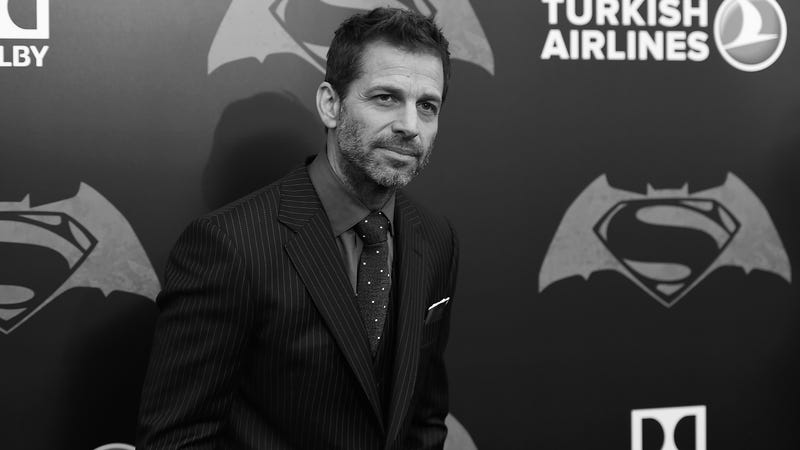 Zack Snyder at the NYC Batman V Superman: Dawn Of Justice premiere.