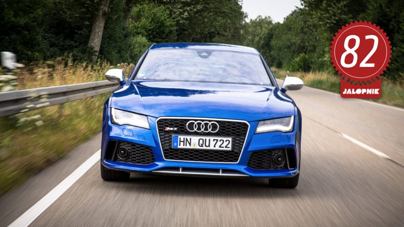 Illustration for article titled 2014 Audi RS7: The Jalopnik Review