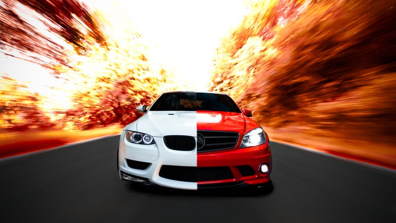 Illustration for article titled Would You Take A C63 Over An M3?