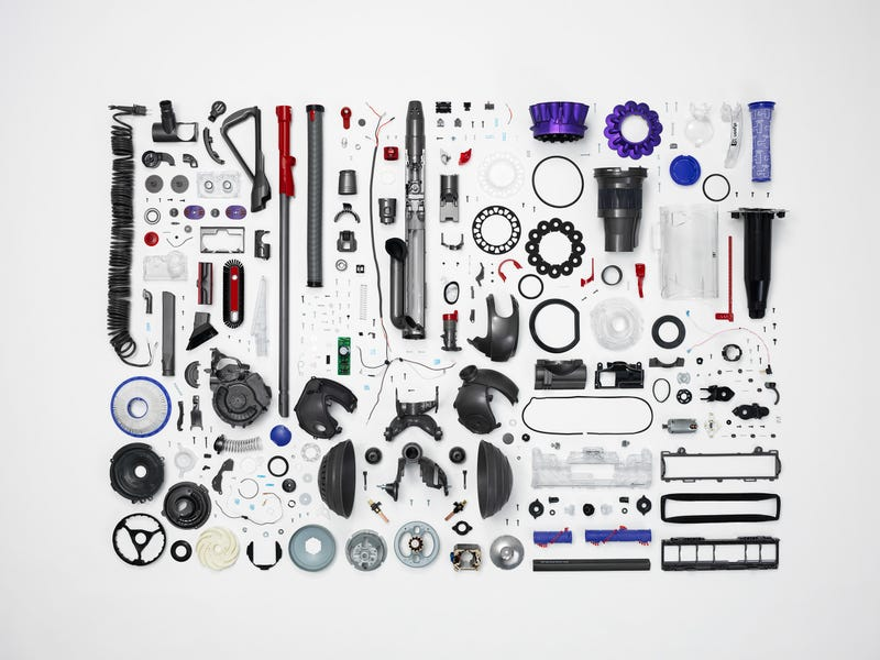 Illustration for article titled A Deconstructed Dyson DC65 is a Thing of Beauty