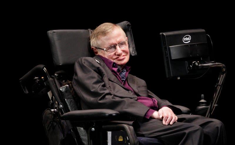 """Illustration for article titled Las mejores frases de Stephen Hawking: """"no tengo miedo a morir, pero tampoco tengo prisa"""""""