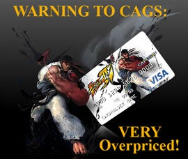 Illustration for article titled Raw Deal Capcom Pre-Paid Credit Card Policy Changed