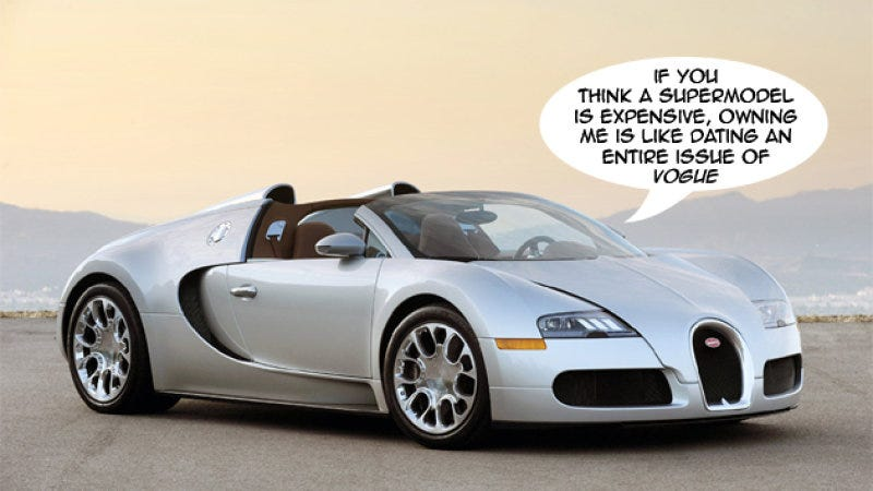 Illustration for article titled Would you ever by a Veyron?