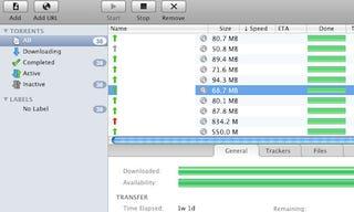 uTorrent for Mac Upgrades to Beta, Gets Interface Overhaul