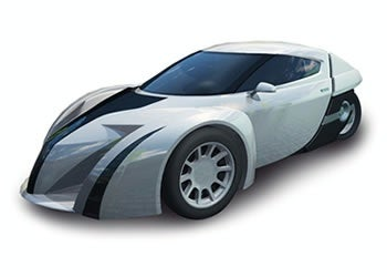 Illustration for article titled ZAP Alias Electric Sports Car Ready For Production In 2009, Priced Around $30,000