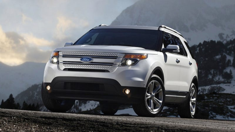 Ford Explorer This Is Not An Suv