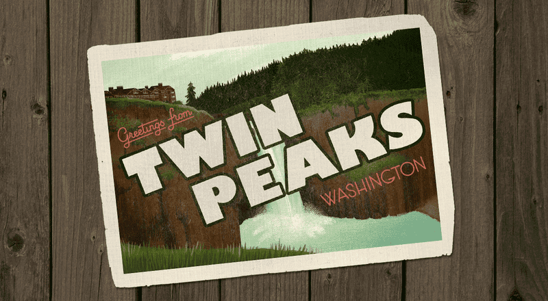 Illustration for article titled Greetings from Twin Peaks