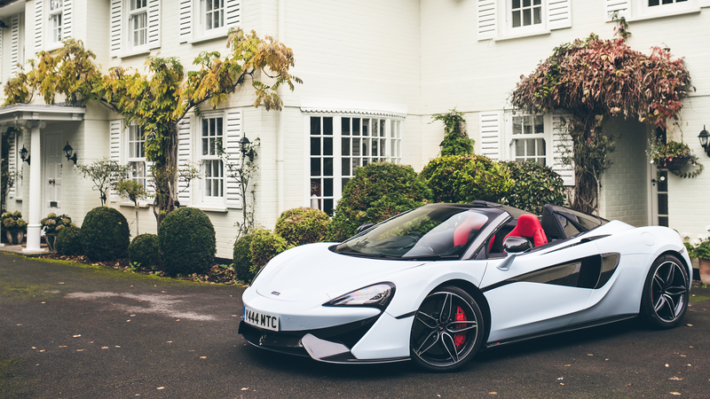 Illustration for article titled McLaren Develops A Revolutionary New Color: White